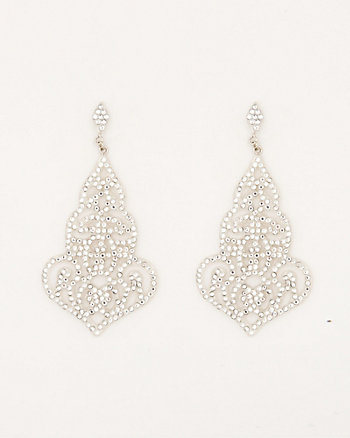 Gem Filigree Earrings
