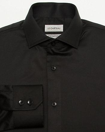 Cotton Sateen Euro Fit Shirt