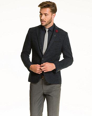 Knit Slim Fit Blazer