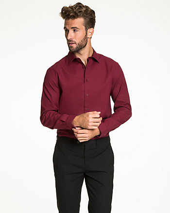 Cotton Tonal Tailored Fit Shirt
