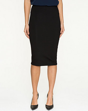 Cotton Jersey Pencil Skirt