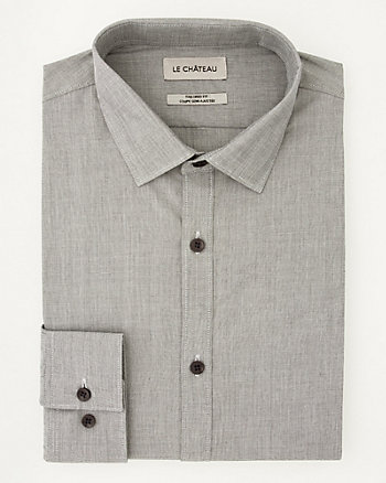 End-on-End Tailored Fit Shirt