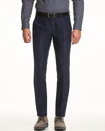 Tonal Woven Slim Leg Pant