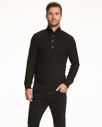 Cotton Slim Fit Sweater