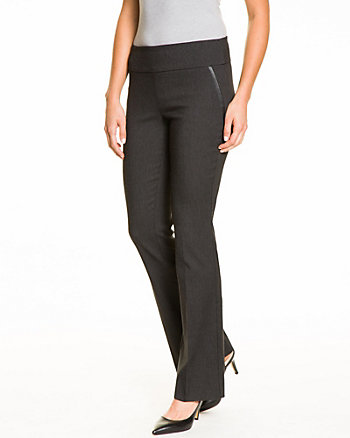 Stretch End-On-End Flare Leg Pant