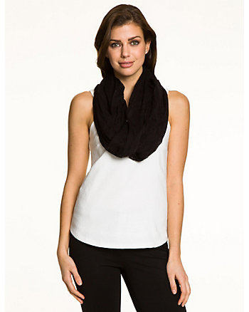 Woven Lightweight Infinity Scarf