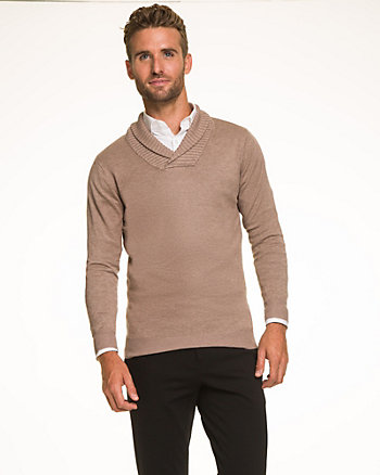 Rayon Blend Slim Fit Sweater