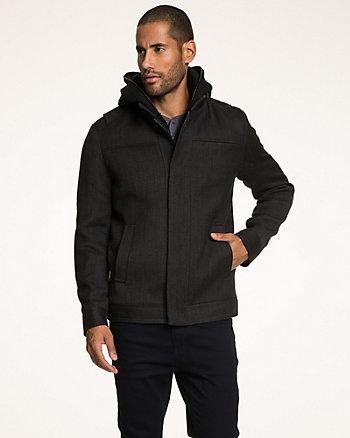 Wool Twill Mailman Coat