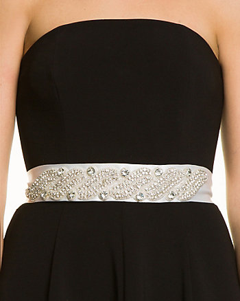 Jewel Embellished Sash