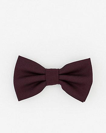Shiny Herringbone Bow Tie