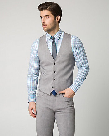 Cotton Twill City Fit Vest