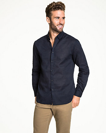 Cotton Voile Tailored Fit Shirt