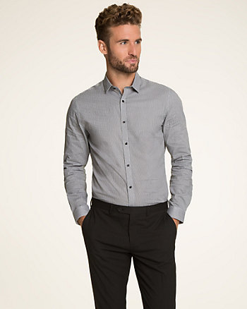 Novelty Pattern Slim Fit Shirt