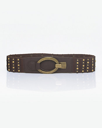 Elastic & Metal Stud Belt