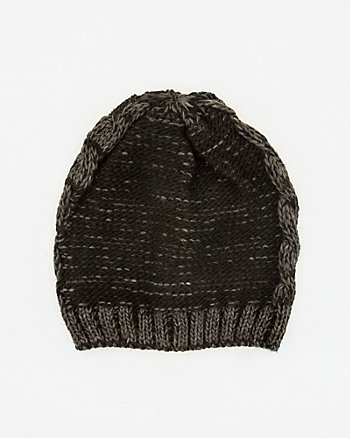 Tonal Pattern Cotton Beenie