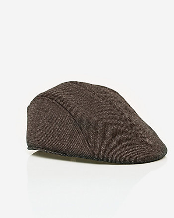 Two-Tone Wool Twill Ivy Cap