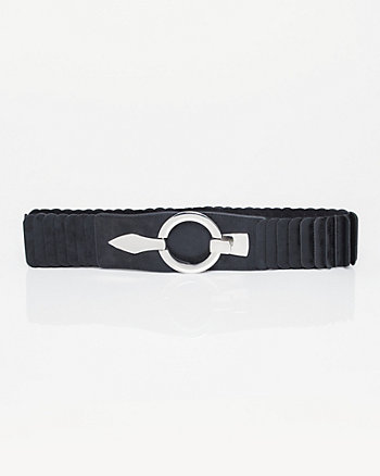 Leather-Like & Elastic Belt