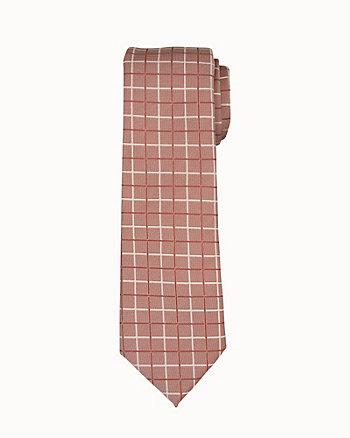 Check Microfibre Tie