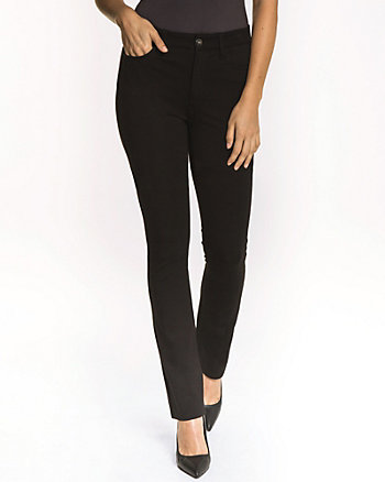Ponte Slight Flared Leg Pant