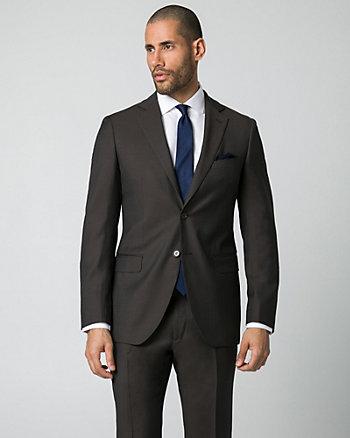Italian-Made Wool Tailored Fit Blazer