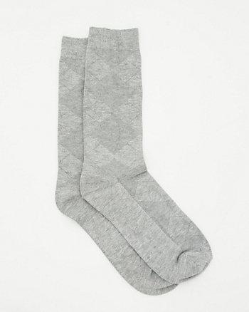 Argyle Bamboo Socks