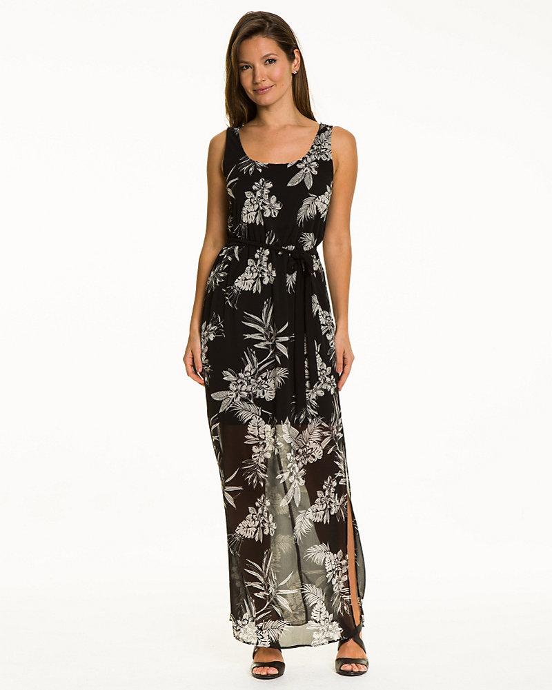 9b5eea4304 Floral Chiffon Maxi Dress | LE CHÂTEAU