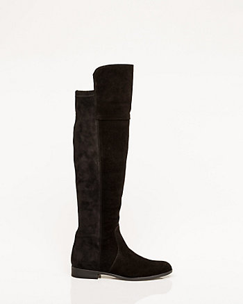 Italian-Designed Suede Boot