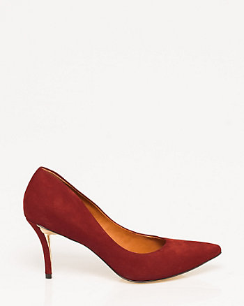 Brazilian-Made Leather Pump