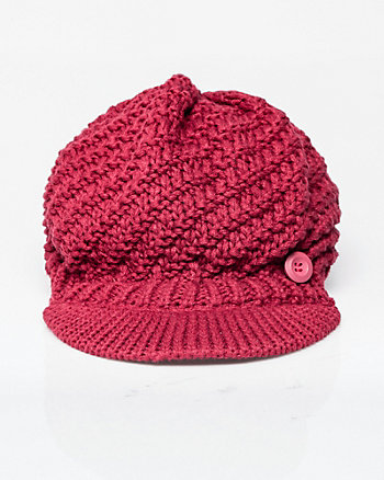 Two-Tone Poor Boy Cap