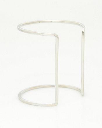 Metal Open Cuff Bracelet