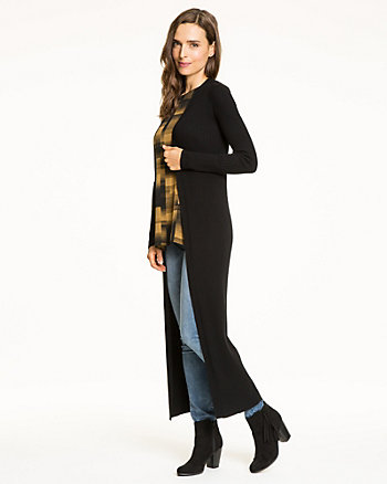 Viscose Blend Duster Cardigan