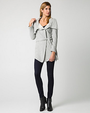 French Terry Snap Button Blazer