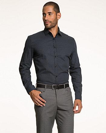 Printed Cotton Slim Fit Shirt