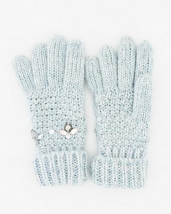 Gem Knit Gloves