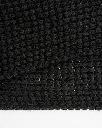 Écharpe de tricot bouclé