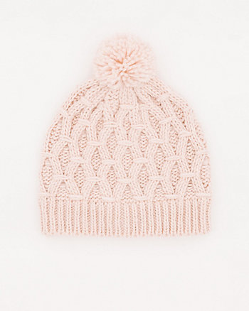 Honeycomb Knit Tuque