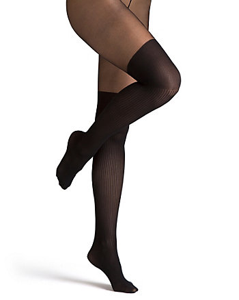 Illusion Over-the-Knee Nylons