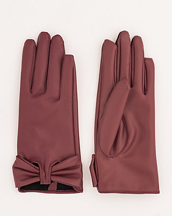Leather-Like Gloves
