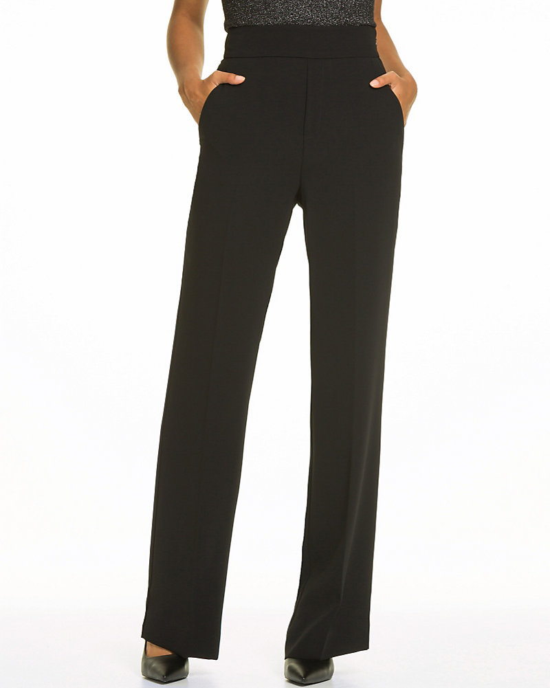 f4b8135016 Tricoteen High Waist Flare Leg Pant | LE CHÂTEAU