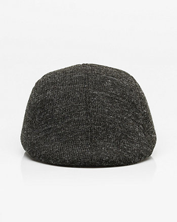 Chambray Knit Cabbie Hat