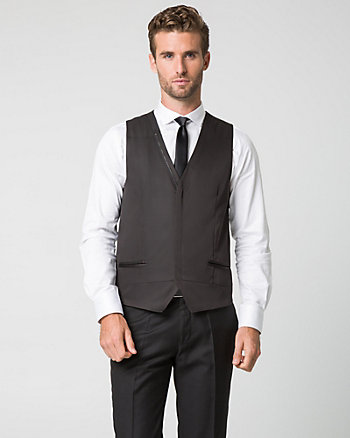 Woven Contemporary Fit Vest