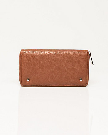 Textured Leather-Like Wallet