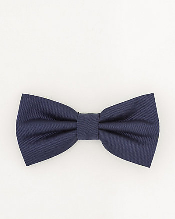 Tonal Viscose Blend Bow Tie