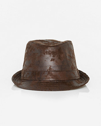 Suede-Like Fedora