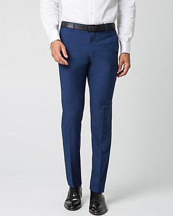 Woven Twill Slim Leg Pant