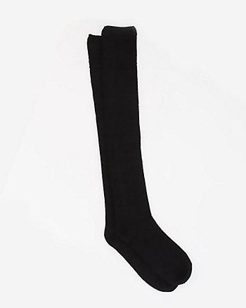 Acrylic Blend Over-the-Knee Socks