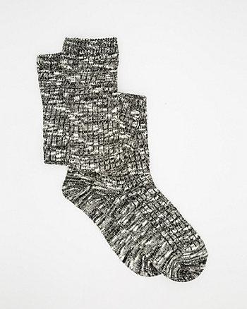 Mélange Over-the-Knee Socks