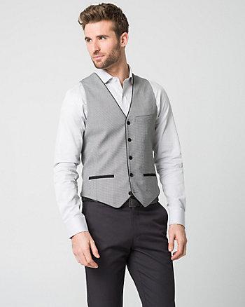 Tonal Woven City Fit Vest
