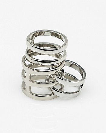 Open Band Metal Ring