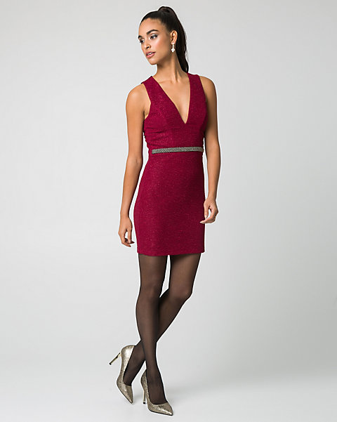 c09f431449 YOU MAY ALSO LIKE. Previous. image. Lace V-Neck Cocktail Dress